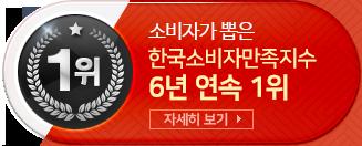 한국 소비자 만족 지수 6년 연속 1위
